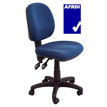 Denise Medium Back Fully Ergonomic Navy Office Chair
