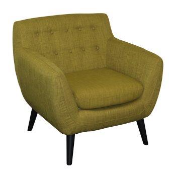Gianna Chair, Apple Fabric