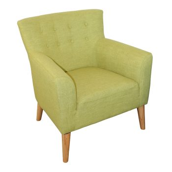 Gina Chair, Apple Fabric