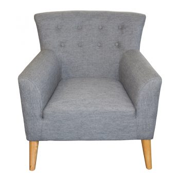 Gina Chair, Slate Fabric