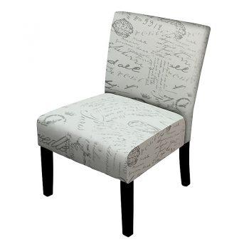 Julia Chair, Paris Script