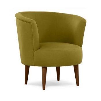 Marcella Tub Chair, Apple Fabric