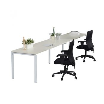 Modular Desk - 2 Person In-Line