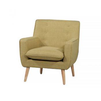 Chriss Chair, Leaf Fabric Colour