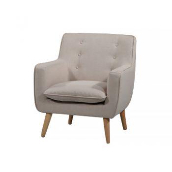 Chriss Chair, Linen Fabric Colour