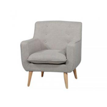 Chriss Chair, Stone Fabric Colour
