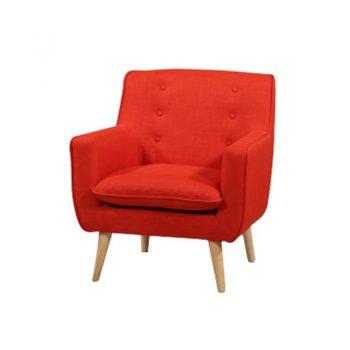 Chriss Chair, Sunkist Fabric Colour