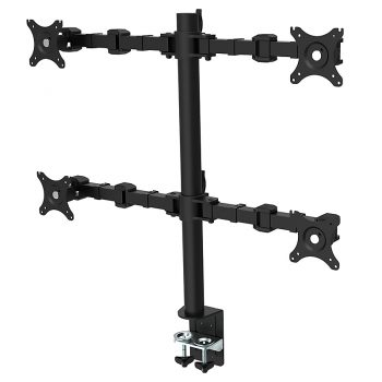 Eden Standard Ergonomic Quad Monitor Arm