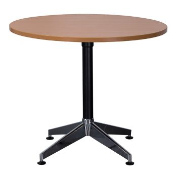 Kennedy Round Meeting Table, Beech
