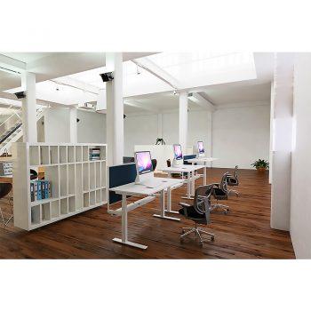 Sydney Height Adjustable Desks in Place