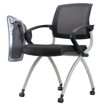 Lexi Nesting Chair with Tablet Arm Angle View