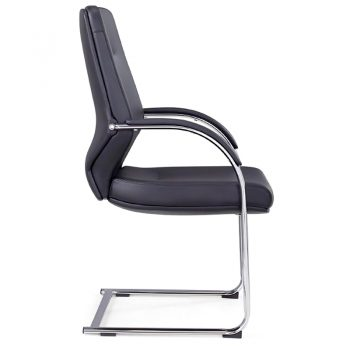 CBD Cantilever Visitor Chair, Side View