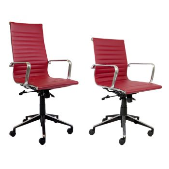 Hunter Chair Range, Dark Red