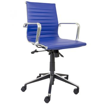 Blue Hunter Medium Back Chair