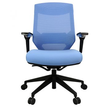 Breathe Pro Chair, Blue, Front View
