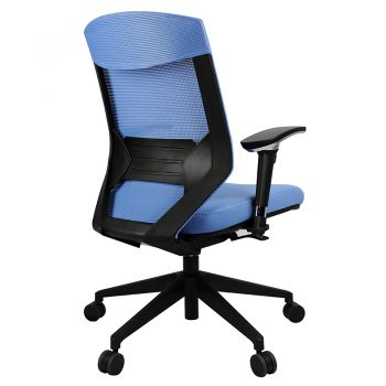 Breathe Pro Chair, Blue, Rear View