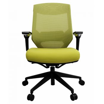 Breathe Pro Chair, Green, Front View