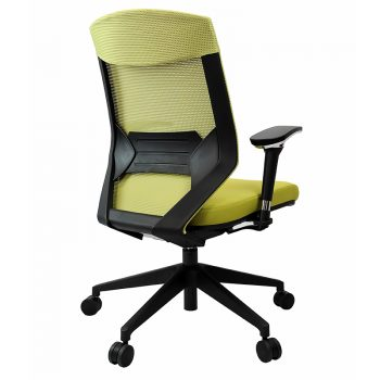 Breathe Pro Chair, Green, Rear View
