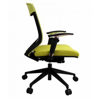 Breathe Pro Chair, Green, Side View