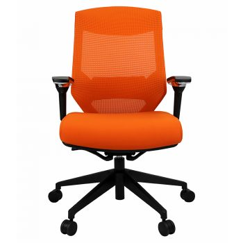 Breathe Pro Chair, Orange, Front View