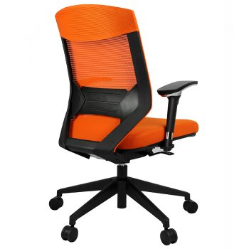 Breathe Pro Chair, Orange, Rear View