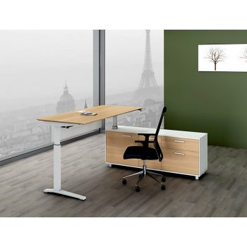 Executive Height Adjustable sit stand desk