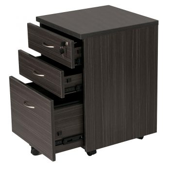 Dark Timber Drawer Unit