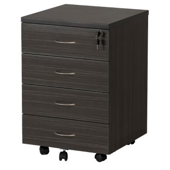 Elite Mobile Drawer Unit, 4 Personal Drawers