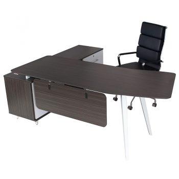Office Desk Black and White