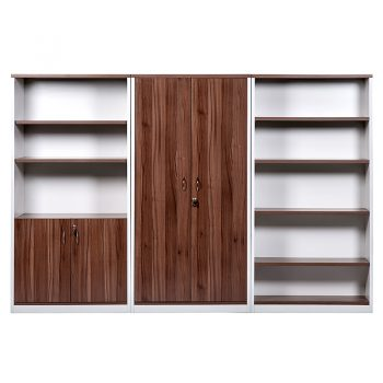 Essential Wall Unit, Storage Cupboard and Bookcase