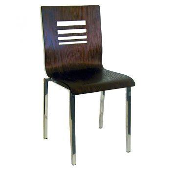 Dark Timber Visitor Chair