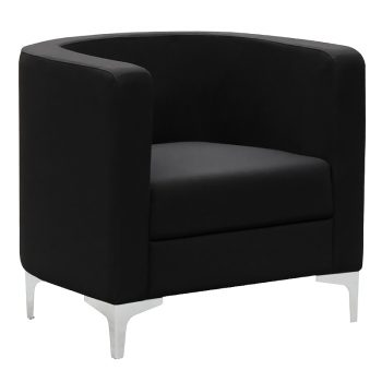 Black Tub Chair Lounge