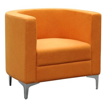 Orange Tub Chair Lounge