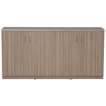 Primo Hinged Door Credenza, Doors Closed