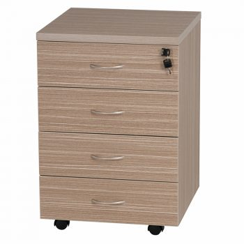 Primo Mobile Drawer Unit, 4 Personal Drawers