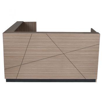 Corner Reception Counter