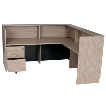 L Shape Reception Counter Desk