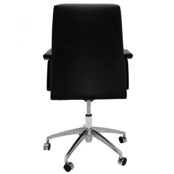 Croydon Medium Back Chair, Rear View