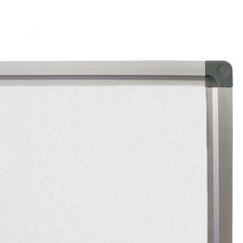 Deluxe Standard Heavy Duty Magnetic White Board, Frame Detail