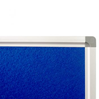 Deluxe Pin Board, Blue, Frame Detail