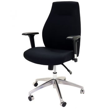 Eaton High Back Chair, Left Front Angle View