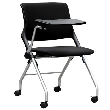Lucca Nesting Chair with Tablet Arm