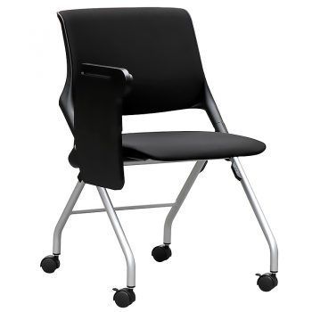 Lucca Nesting Chair with Tablet Arm, Image 2