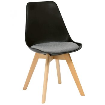 Virgo Chair, Black