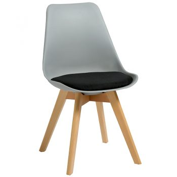 Virgo Chair, Grey