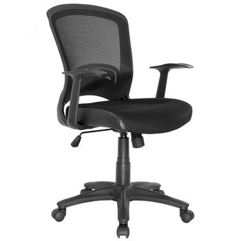 Andes Chair, Black Mesh Back