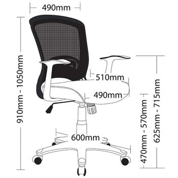 Andes Chair, Dimensions