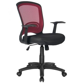 Andes Chair, Red Mesh Back