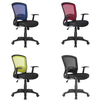 coloured office chairs