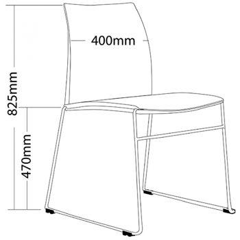 Rift Chair, Dimension